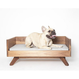 the lowdown on dog beds, including super cool designs